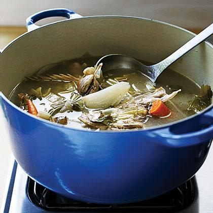 Fish stock recipe myrecipes for Fish stock recipe