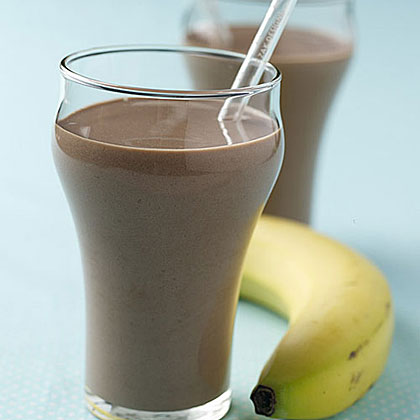 Chocolate-Banana Smoothie Recipe