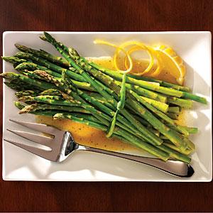 Asparagus with Citrus Dressing