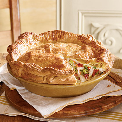 Double-Crust Chicken Pot Pie Recipe