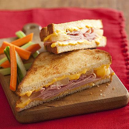 Hawaiian Grilled Cheese SandwichesRecipe