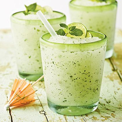Minty Lime Frozen Mojito