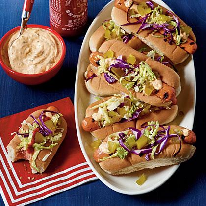 Sweet Heat Hot Dogs