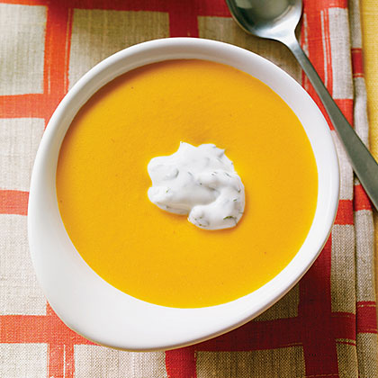 Curried Carrot Coconut SoupRecipe