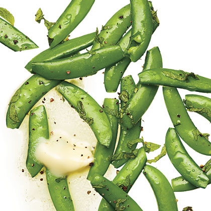 Steamed Sugar Snap Peas