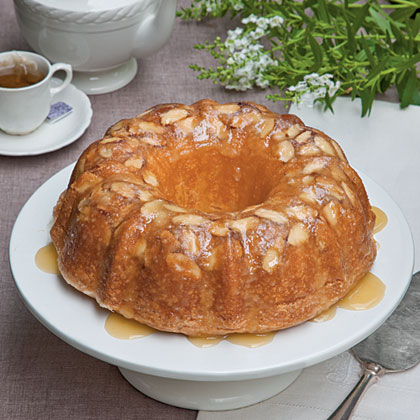 Amaretto-Almond Pound Cake Recipe