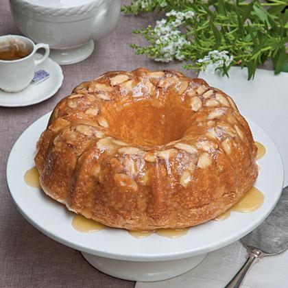 Amaretto-Almond Pound CakeRecipe