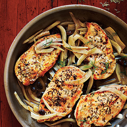be47c2c601 Chicken with Italian Sweet-Sour Fennel Recipe