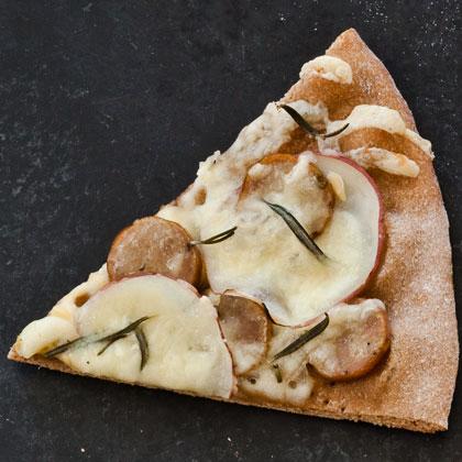 Chicken Sausage and Potato Pizza