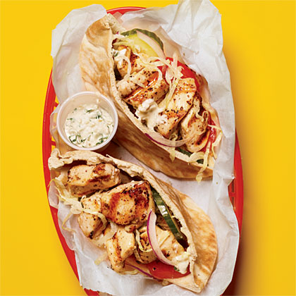 recipe: chicken souvlaki sandwich [4]