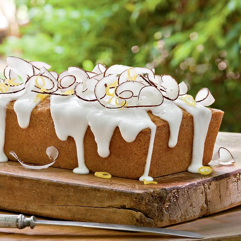 Lemon-Coconut Pound Cake Loaf