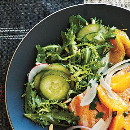 Frisée and Arugula Salad