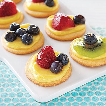 Mini Fruit Tartlets Recipe