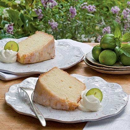 Key Lime Pound CakeRecipe