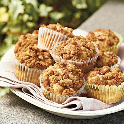 Peach-Pecan Muffins