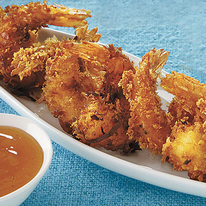 Spicy Coconut Shrimp Recipe | MyRecipes