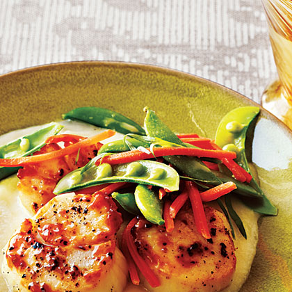 Tarragon Carrots and Peas