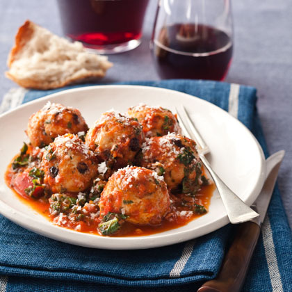 <p>Turkey, Pine Nut, and Currant Meatballs</p>