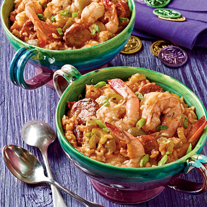 Shrimp-and-Sausage Jambalaya