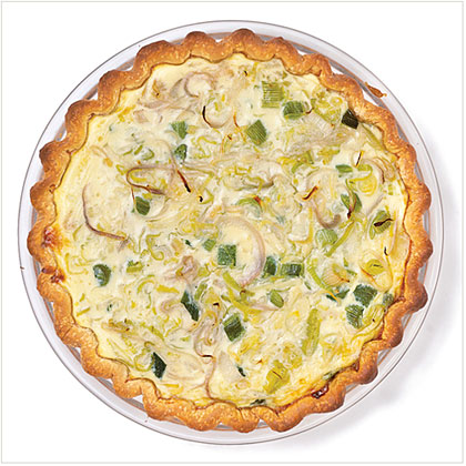 Three-Onion Quiche