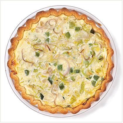 Three-Onion Quiche Recipe