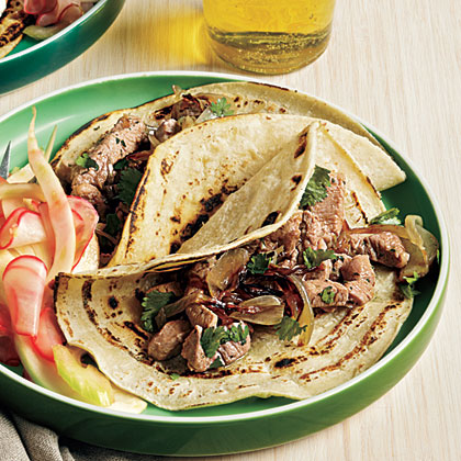 <p>Chipotle Pork Tacos</p>