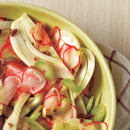 Radish and Fennel Salad