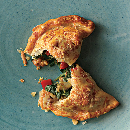 ck-Savory Sausage, Spinach, and Onion Turnovers Recipe