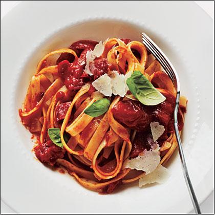 Slow-Roasted Tomato Pasta