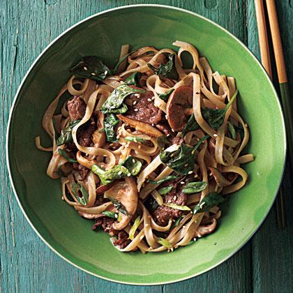 Stir-Fried Rice NoodlesRecipe