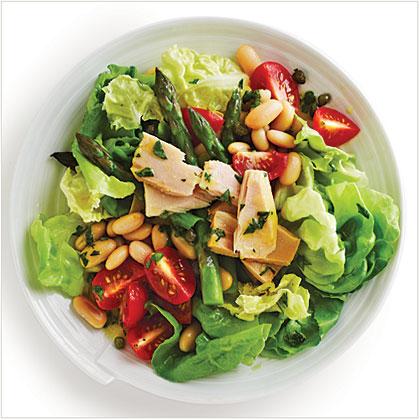 Tuna and White Bean Salad Recipe | MyRecipes.com