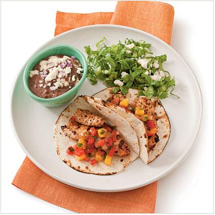 Grilled Chicken TacosRecipe