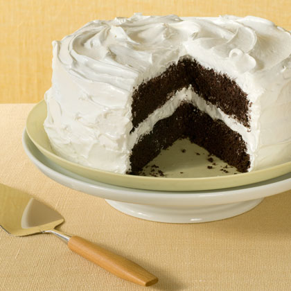 <p>Deep Dark Chocolate Layer Cake</p>