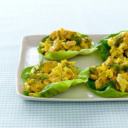 <p>Feel-Good Chicken, Cannellini Bean, and Artichoke Salad</p>