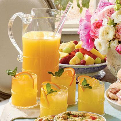 sl-Sparkling Ginger-Orange Cocktails