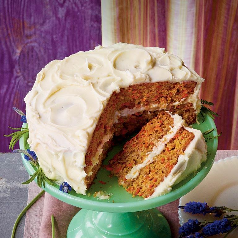 Layered Carrot Cake