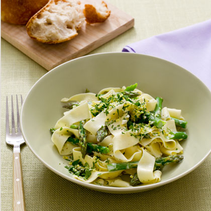 <p>Pappardelle with Lemon Gremolata and Asparagus</p>