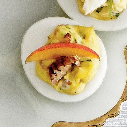 Georgia Peach Deviled EggsRecipe