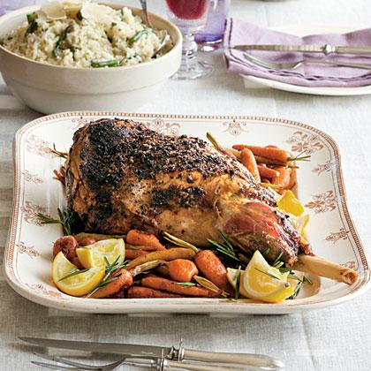 Rosemary Roast Lamb