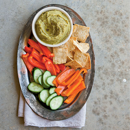 Split Pea Hummus Recipe | MyRecipes.com