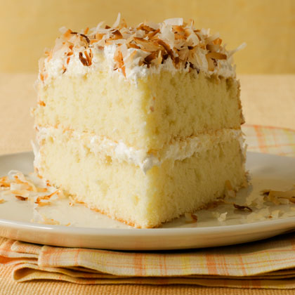 <p>Toasted-Coconut Layer Cake</p>