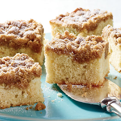 Vanilla Buttermilk Crumb Cake Recipe