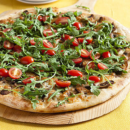 Arugula Salad Pizza