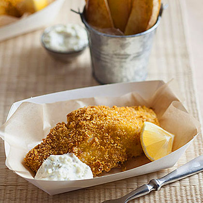 Baked Fish and Chips Recipe