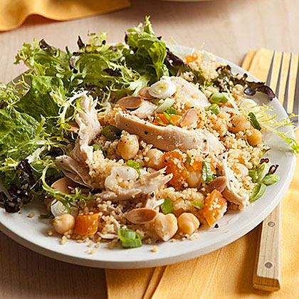 Couscous with Chicken, Chickpeas and ApricotsRecipe