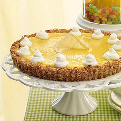 Lemon Tart with Coconut Crust Recipe
