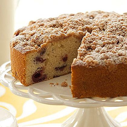 Sour Cherry Coffee Cake