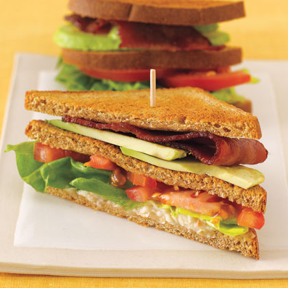 CarbLovers Club Sandwich Recipe | MyRecipes.com