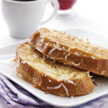 coconut-toast-rapsberry Recipe