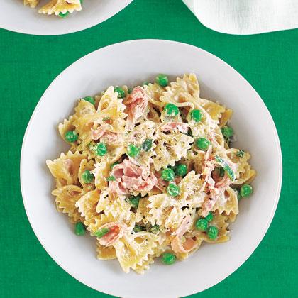 Pasta with parmesan recipe